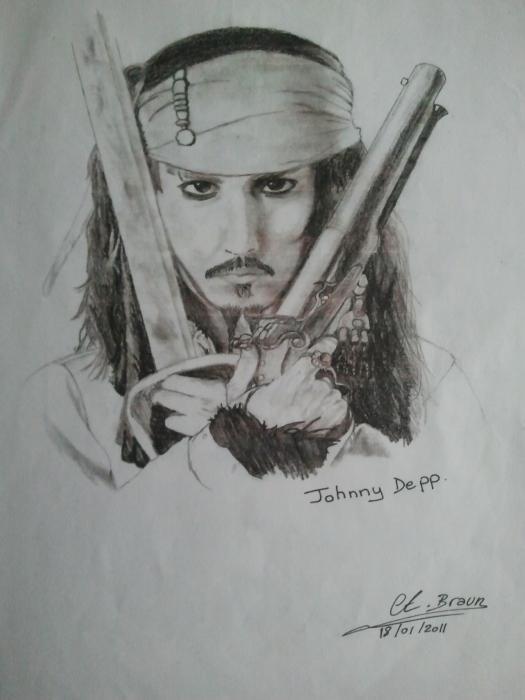 Johnny Depp by loule